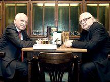 Prezident Václav Klaus se sešel s tehdeším šéfem Národní galerie Milanem...