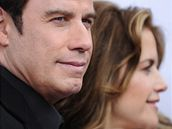 John Travolta s manelkou Kelly Prestonovou