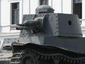 Tank československé výroby LTP 38 v Peru