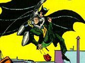 prvn� vyd�n� komiksu s Batmanem, kv�ten 1939