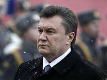 Ukrajinský prezident Viktor Janukovyč (11. března 2010).