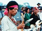 Jimi Hendrix na festivalu ve Woodstocku