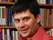 Politolog Tom� Lebeda.