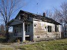 P�edm�st� Detroitu jsou pln� zch�tral�ch dom�. - Detroit.