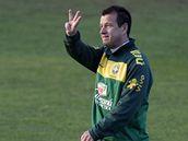 Trenér brazilských fotbalistů Carlos Dunga