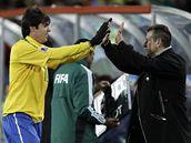DOBRÁ PRÁCE. Kaká (vlevo) si od trenéra Dungy vysloužil pochvalu.
