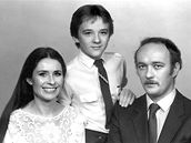 Miroslava Němcová se synem Pavlem a manželem Vladimírem