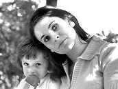 Miroslava Němcová se synem Pavlem