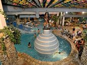 Aquapark libereckého centra Babylon.