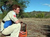 Britský princ Harry vyrazil do minových polí v Mosambiku. Po vzoru své matky