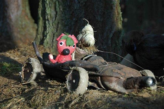 Kuky och hans vän, skogsguden