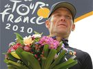 Lance Armstrong v cli Tour de France 2010.