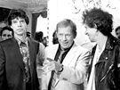 V roce 1990 Havel do Prahy pozval slavnou britskou kapelu Rolling Stones, s...
