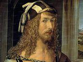 Albrecht Dürer: Autoportrét s rukavicemi