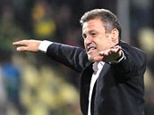 KOUČ V EUFORII. Český trenér Pavel Hapal dovedl slovenský tým do Ligy mistrů.