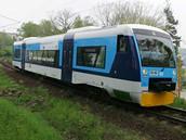 Souprava vlaku RegioShuttle způsobila hned první den na českých kolejích problémy.