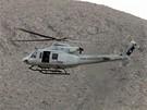 Horn�ky transportuje do nemocnice vrtuln�k.