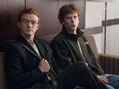 Z filmu Social Network: J. Eisenberg a J.Timberlake