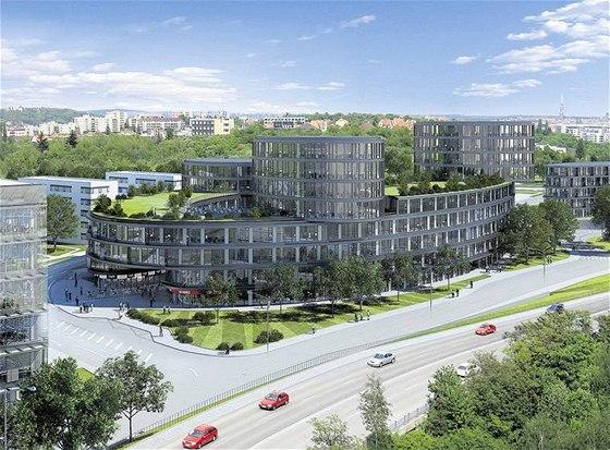 Ekologicky šetrné. Nové kancelářské objekty budou využívat maximum solární energie a denního světla