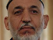 Afghánský prezident Hamíd Karzáí (25. �íjna 2010)