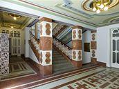 Josef Gočár: Legiobanka v Praze (interiér)