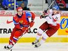 Český hokejista Andrej Nestrašil v reprezentačním dresu.