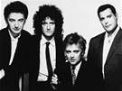 Britská hudební skupina Queen na snímku z roku 1989