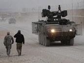 Obrněné vozidlo Pandur v Afghánistánu