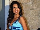 Karima El Mahrougová přezdívaná Ruby na diskotéce v Janově (11. listopadu 2010)