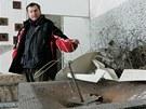 V zimě provedl areálem lázní fotografa MF DNES správce David Troutnar. Město ve