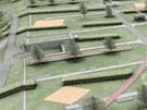 Nová Ústřední čistička odpadních vod bude po dokončení připomínat rozsáhlý park.