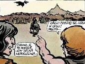 Z komiksu Kruanova dobrodružství