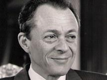 Michel Rocard v čase, kdy byl ministerským předsedou Francie (1988-1991)