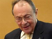 Michel Rocard (nar. 1930) v pokročilém politickém věku