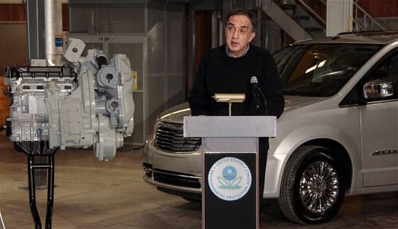 Sergio Marchionne oznamuje spolupráci s EPA