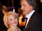 Veronika Žilková a Martin Stropnický - Ples v Opeře 2011
