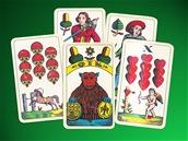 Mariášové karty od tiskáren OTK v Kolíně