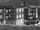 Historie Petrovy boudy sahá 200 let zpátky, takto vypadala v roce 1929.