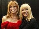 Linda Grayová a Suzanne Somersová po přehlídce - Přehlídka The Heart Truth's...