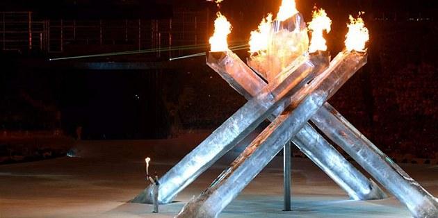 Slavnostní zakon�ení ZOH ve Vancouveru. (28. února 2010)