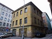 Ruina v Petrské ulici.