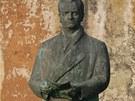 Socha Klementa Gottwalda v Hradci Králové - Ruseku