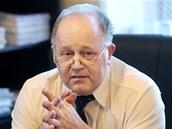 Advokát Jan Herout, obhájce Petra Zelenky.