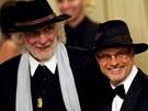 Michal Horáček a Petr Hapka na premiéře Kudykamu. - Státní opera Praha, 21. října 2009