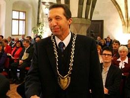 Primátor Jihlavy Jaroslav Vymazal (ODS).