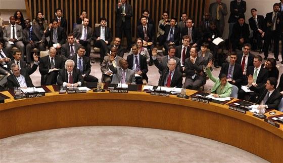 Hlasování o bezletové zóně nad Libyí v Radě bezpečnost OSN (17. března 2011)