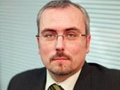 Petr Dufek, analytik ČSOB.