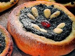 Makové koláče.