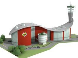 Studie budoucí spalovny odpadu, která ma vyrůst v Chotíkově u Plzně