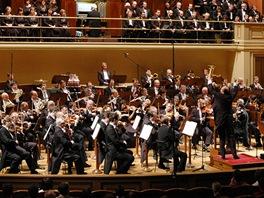 �esk� filharmonie v budov� pra�sk�ho Rudolfina (archivn� sn�mek)